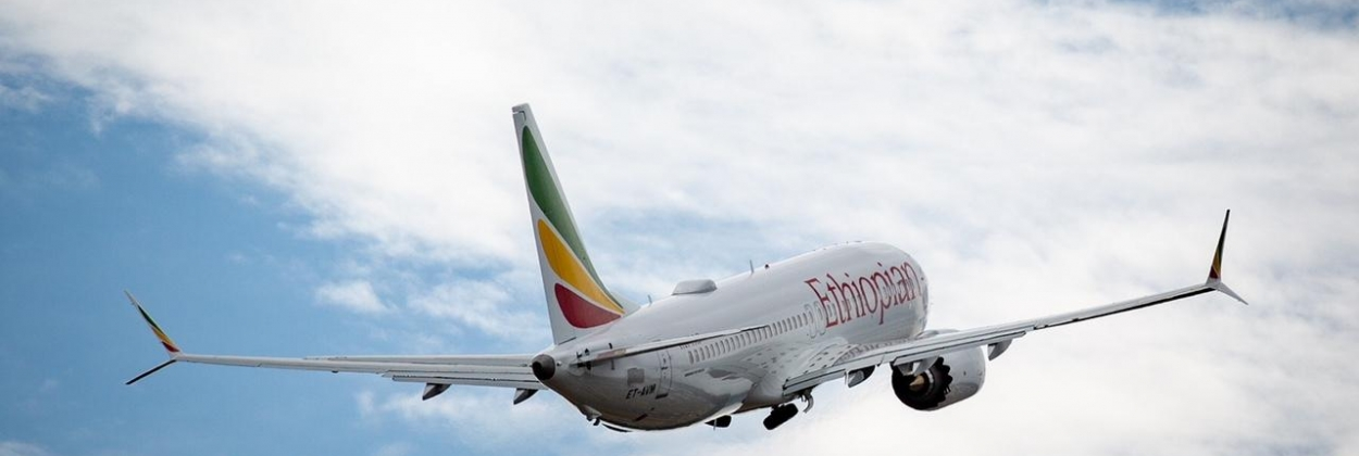 Ethiopian Airlines receives first Boeing 737 Max 8