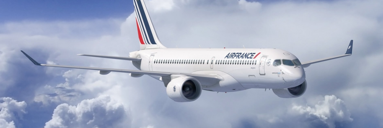 Air France-KLM Group confirms order for 60 Airbus A220-300s