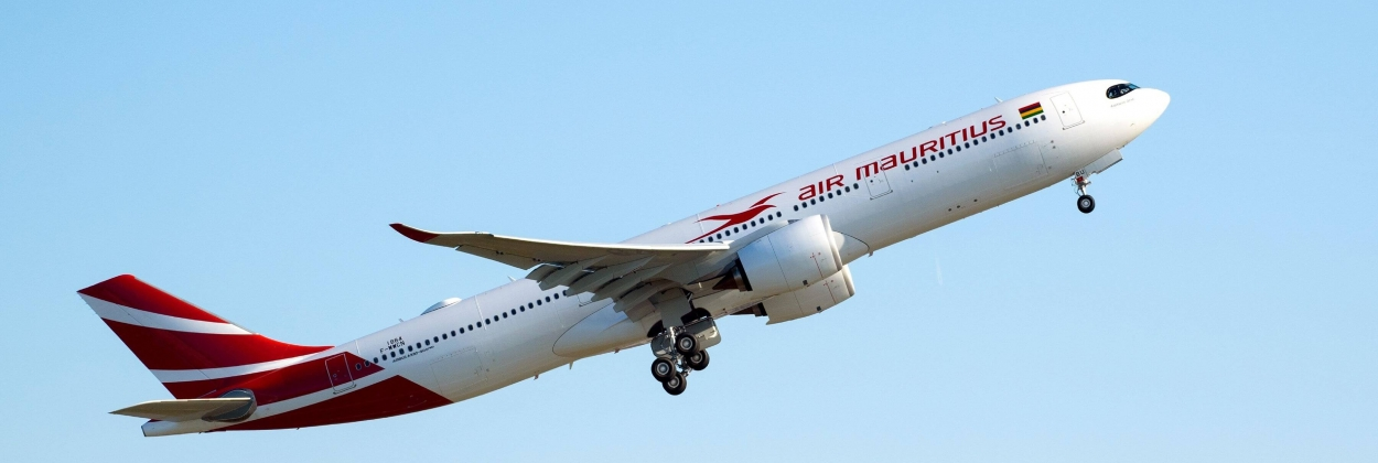 Air Mauritius has received its first Airbus A330neo