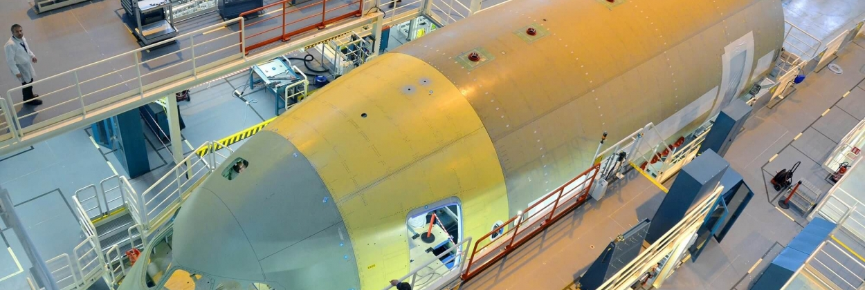 Airbus to reorganize its aerostructure sites in Europe