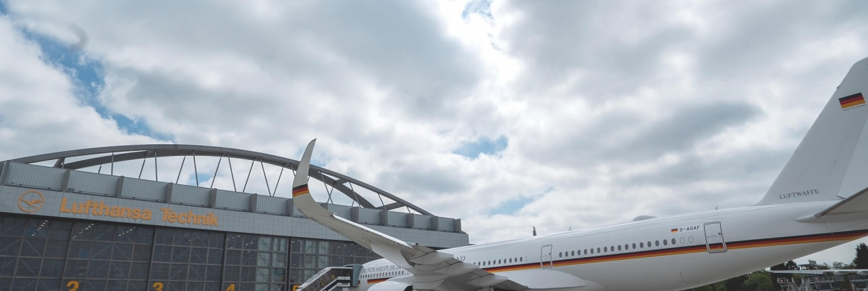 Finishing touches for German governmental A350 XWB