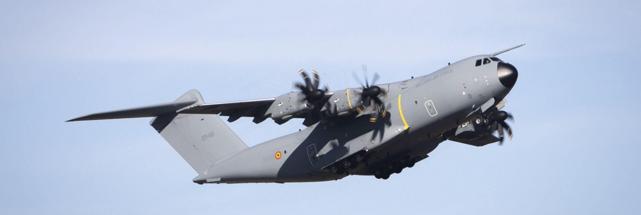 Belgian Army receives first Airbus A400M airlifter