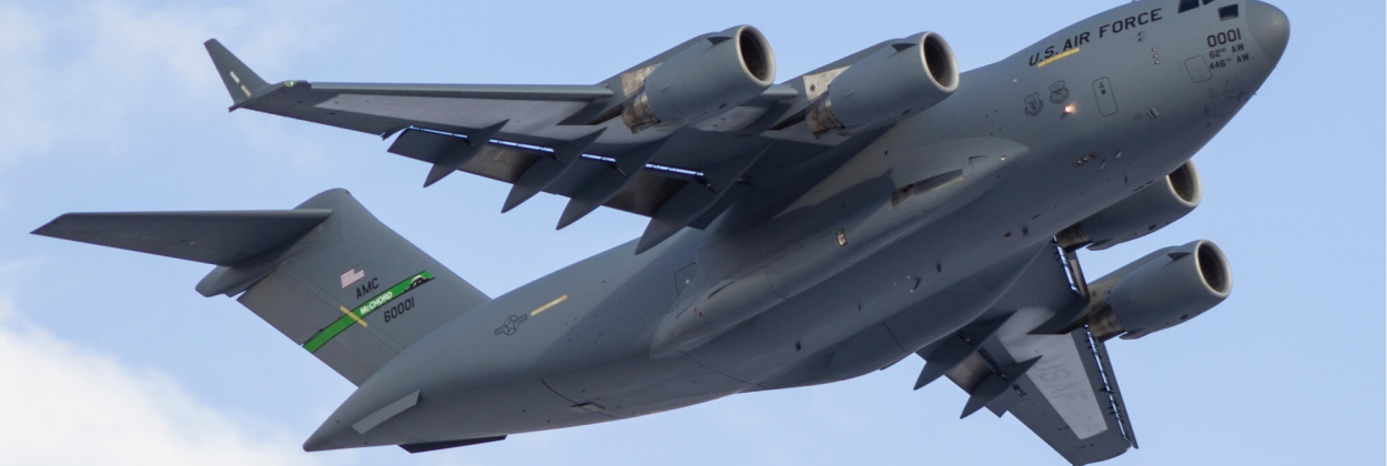 800 people board Boeing C-17 flying out of overrun Kabul airport