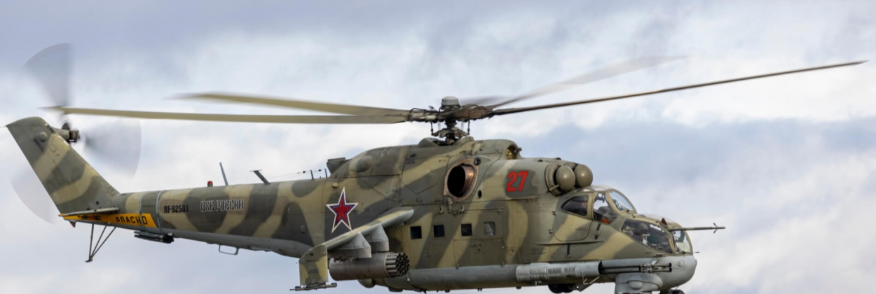 Azerbaijan mistakenly shoots down Russian attack helicopter
