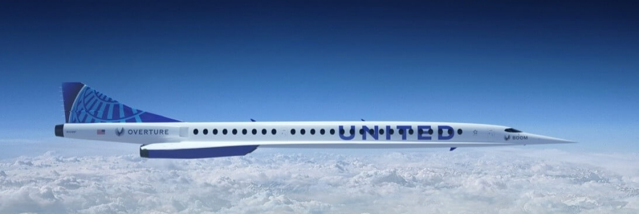 United Airlines signs with Boom to bring back supersonic travel