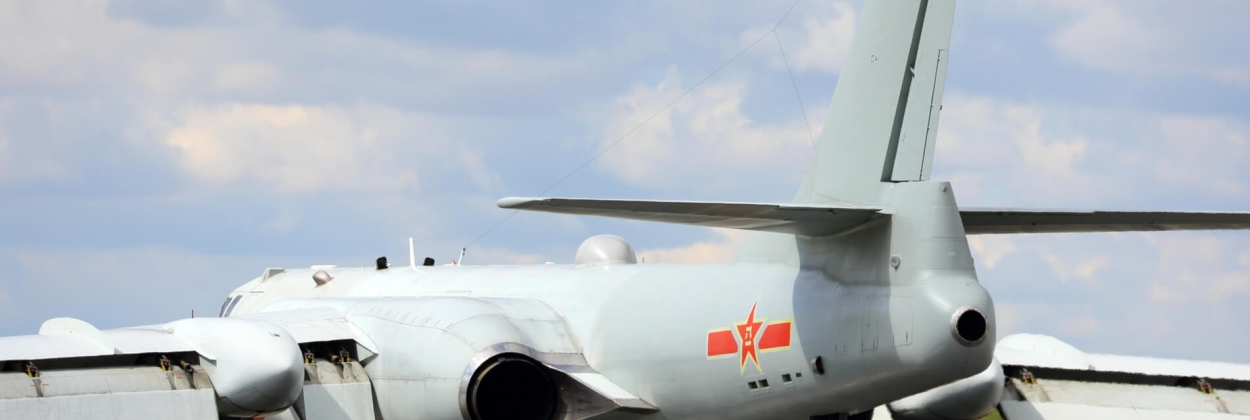 Planespotter witness possible hypersonic weapon on Chinese bomber