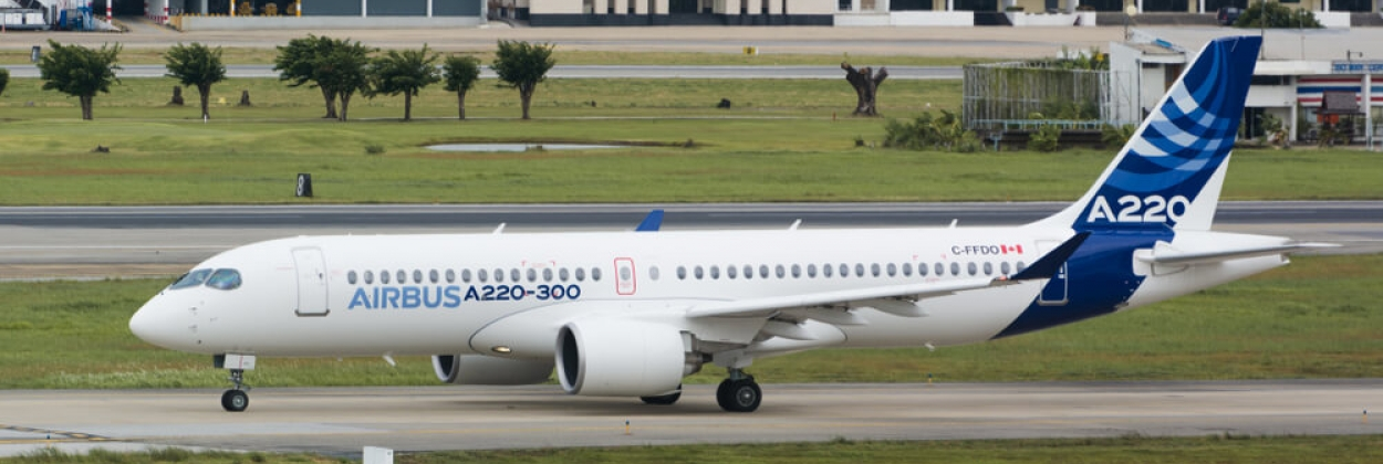 Is the demand for Airbus A220 growing?