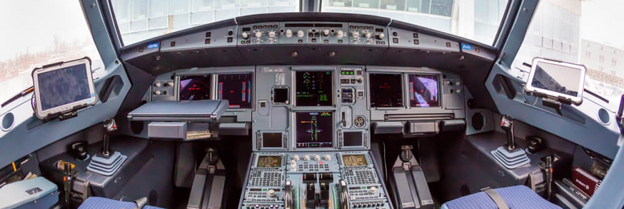 Airbus A320neo cockpit