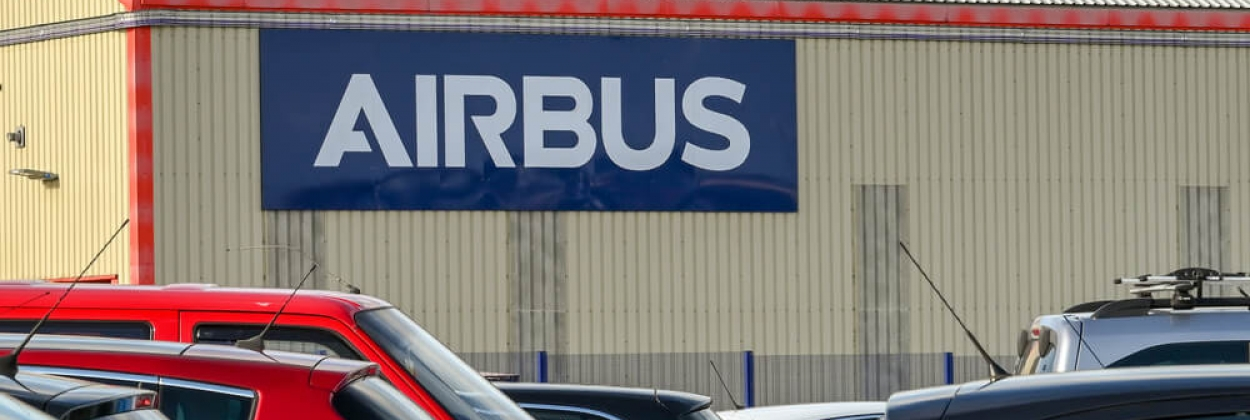 Airbus factory in Broughton, Wales