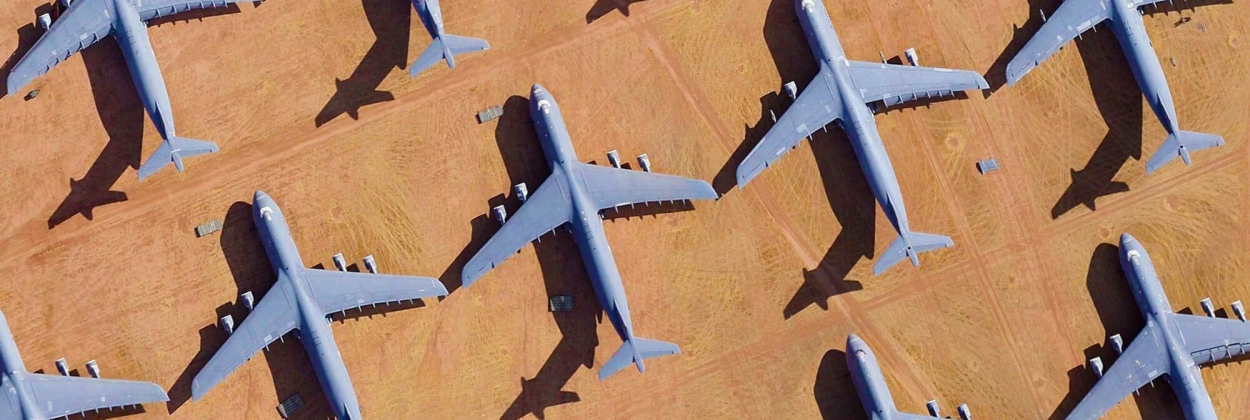 Boneyards, scrap yards and recycling: where aircraft go to die | Quiz