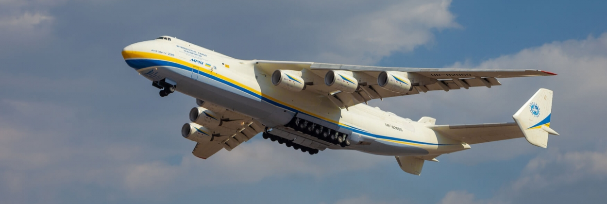 World's largest plane Antonov An-225 joins fight against Covid-19