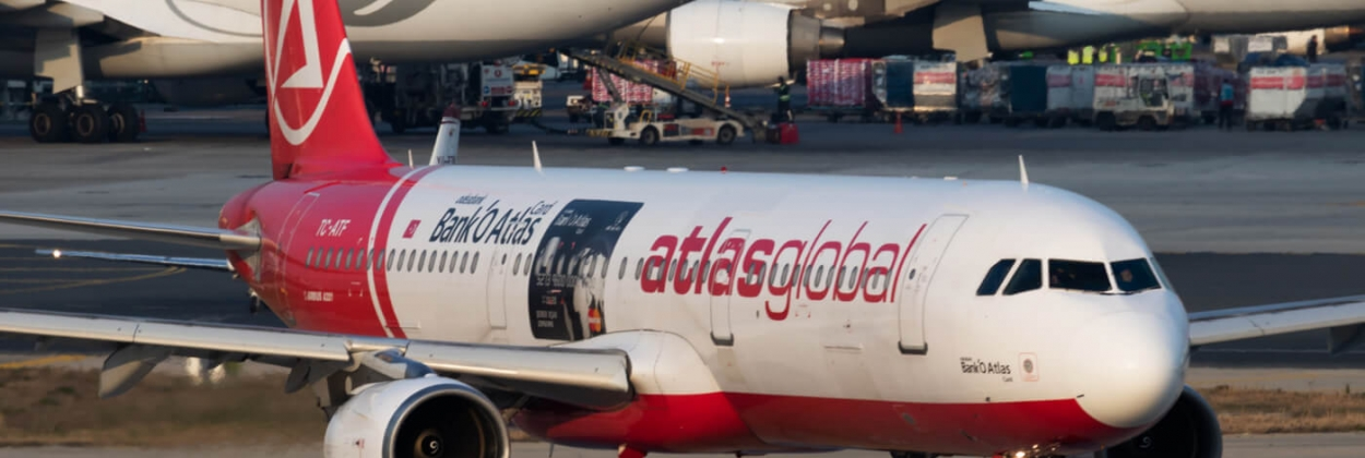 AtlasGlobal Airbus A321 TC ATF passenger plane departure at Istanbul Ataturk Airport aerotime aviation news
