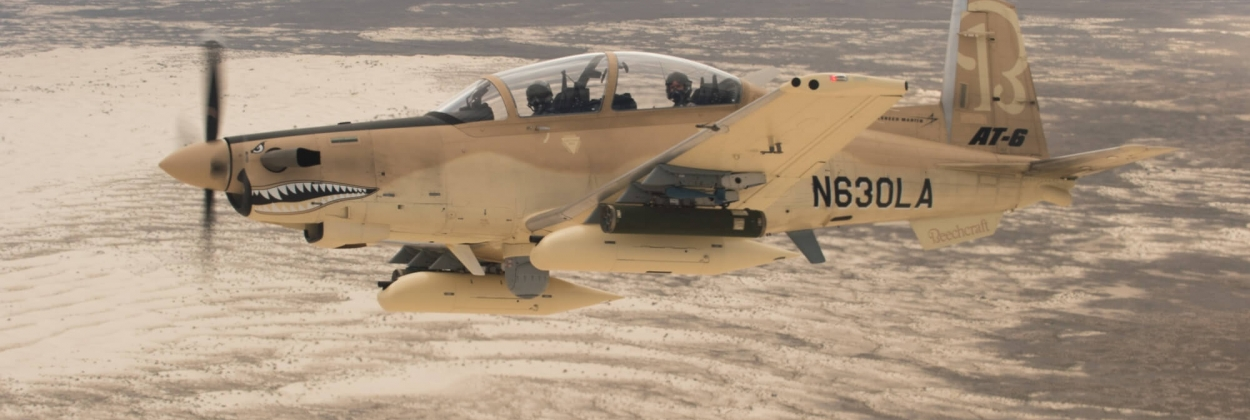 USAF takes delivery of first Wolverine light attack aircraft