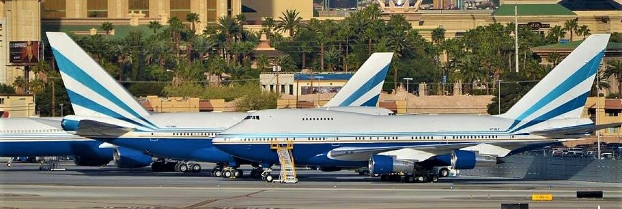 Boeing 747SP pair 'VQ-BMS' and 'VP-BLK'