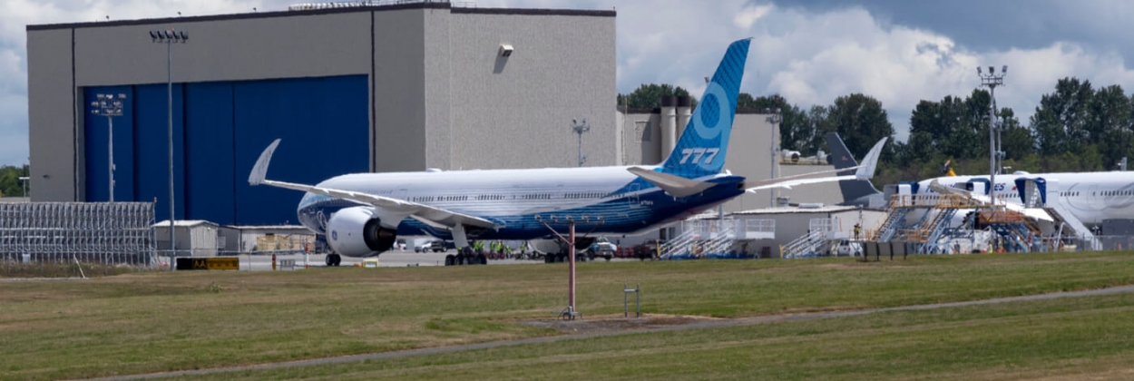 Boeing 777X at Paine Field aerotime aviation news