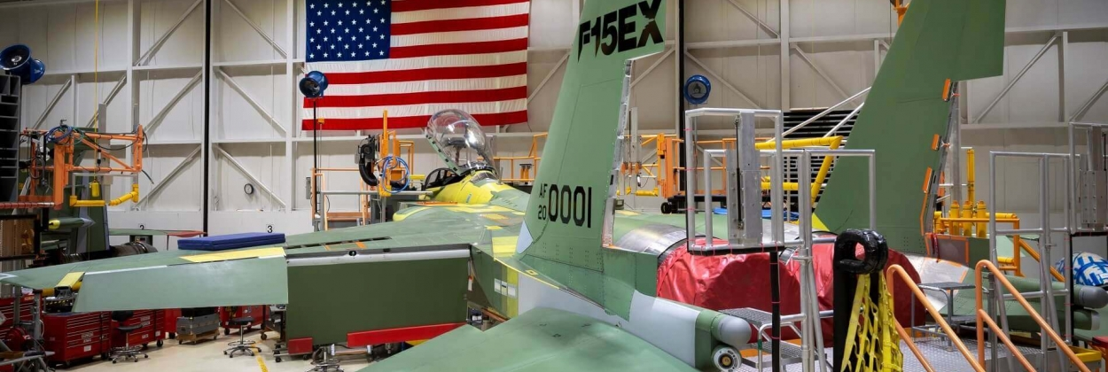Boeing ready to offer F-15EX fighter jet to India