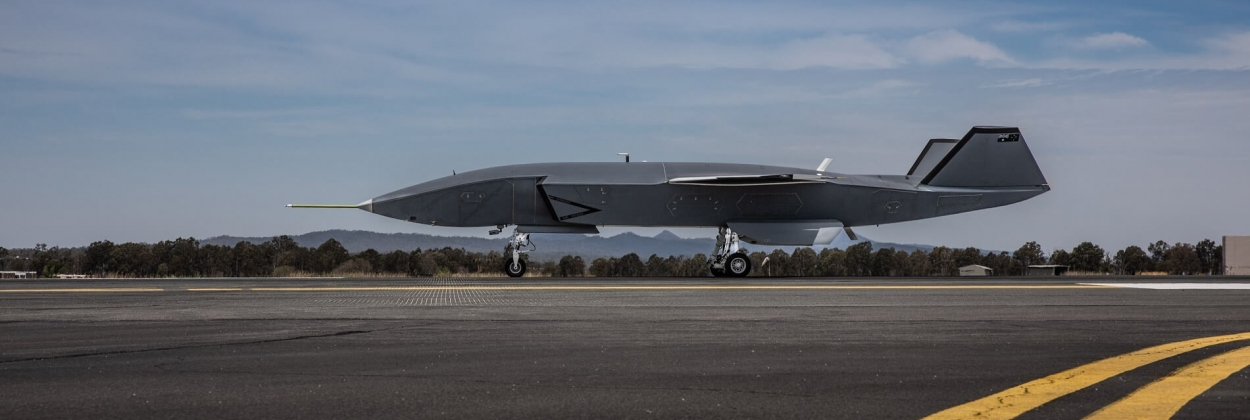 Boeing Loyal Wingman taxies autonomously for the first time