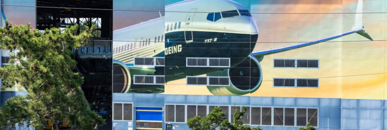 Boeing Renton, Washington facilities where the 737 MAX is produce