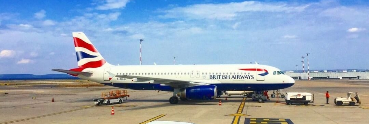 British Airways aircraft in Marseille Provence International Air