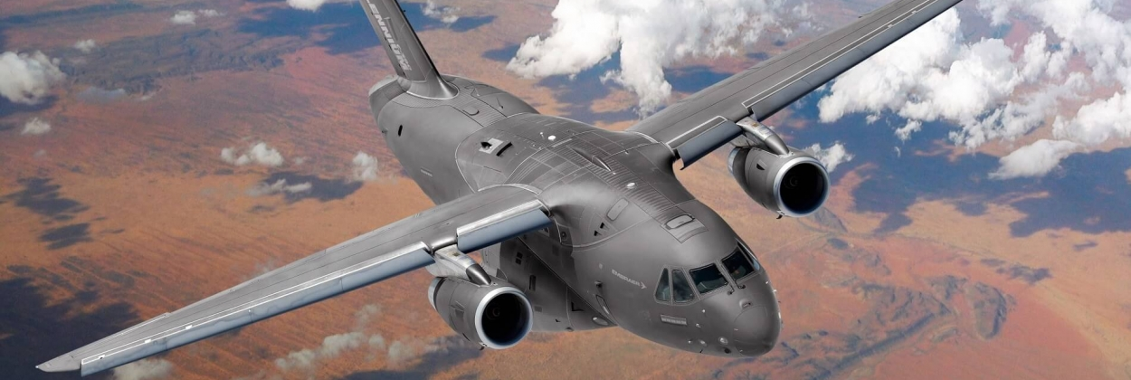 Hungarian Air Force orders two Embraer KC-390 transport planes