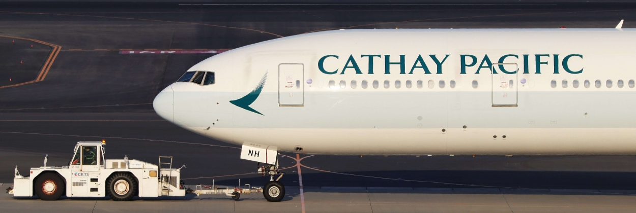 Cathay Pacific traffic figures plunge by 94%
