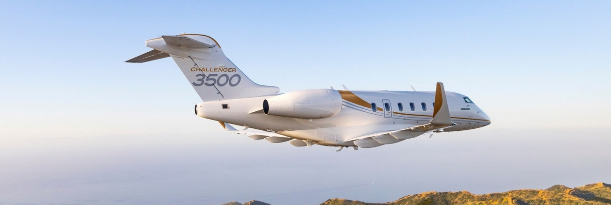 Bombardier sells 20 Challenger 3500 business jets