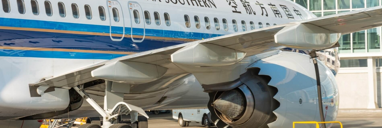 China Southern Boeing 737 MAX 8 in Russia 2018