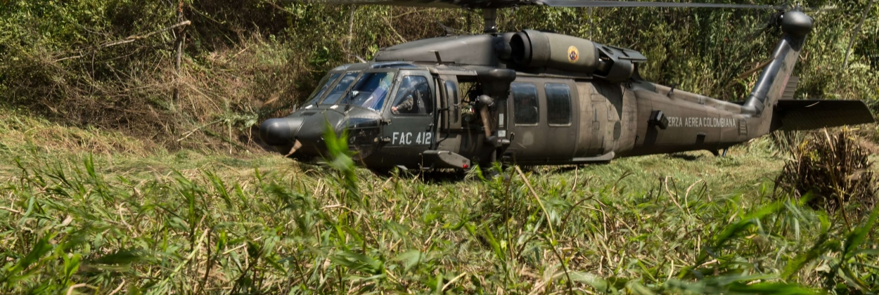 Last two bodies of Colombian military helicopter crash found