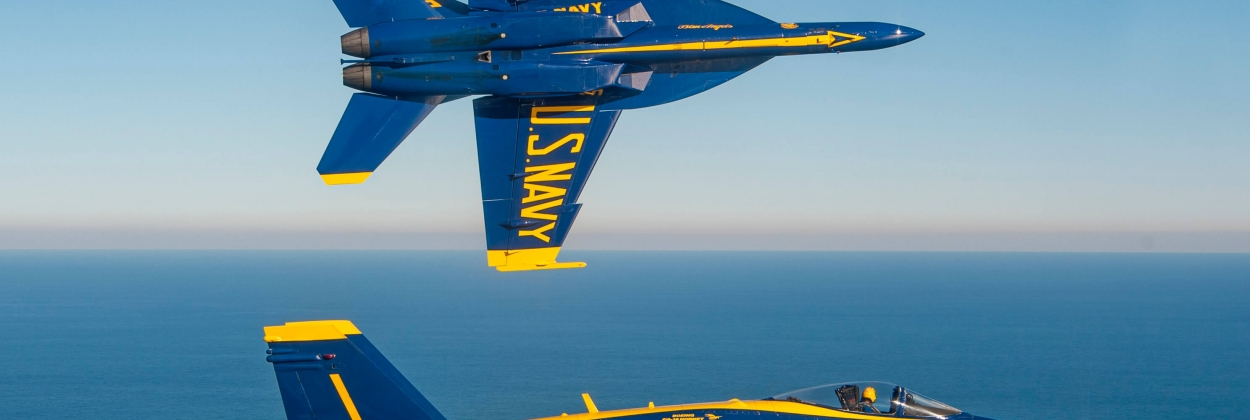 From Classic to Super: Blue Angels switch Hornet