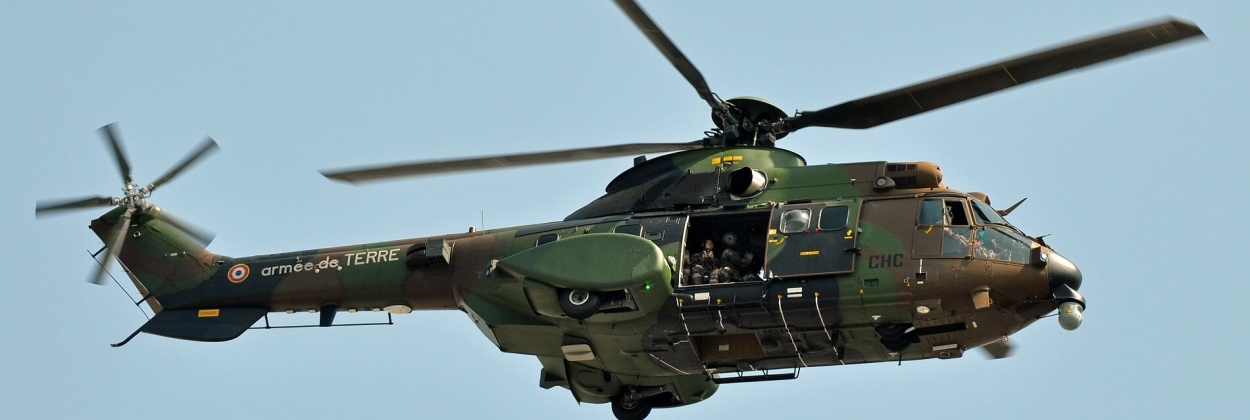 French army helicopter crash kills two soldiers, injures five