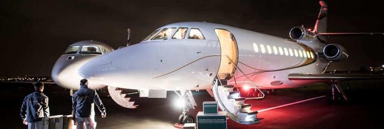 Covid-19: Dassault Aviation makes two Falcon jets available