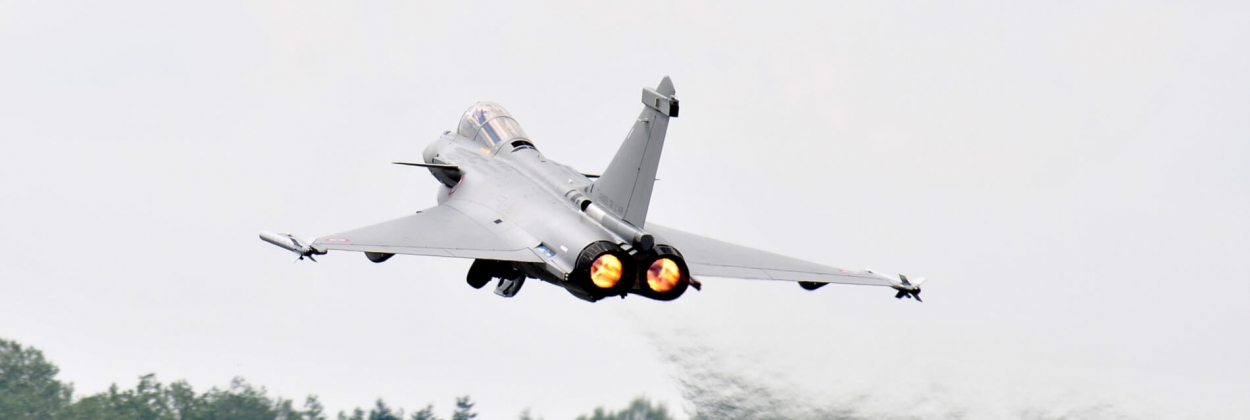 Power outage in France after Rafale fighter jet cuts electric cable