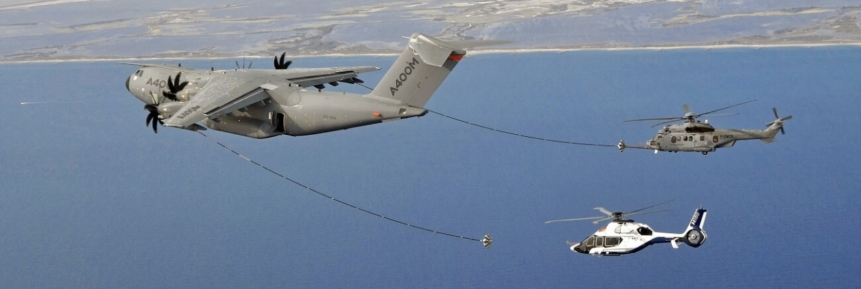 Airbus A400M achieves successful helicopter refueling [Video]