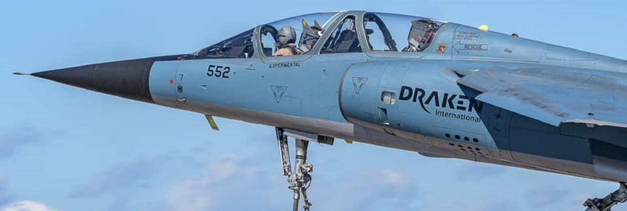 Contracted Mirage F1 crashes near Las Vegas, pilot killed
