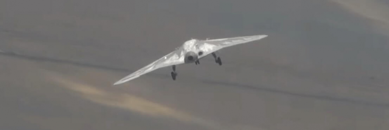 Sukhoi S-70 combat drone tested with missiles
