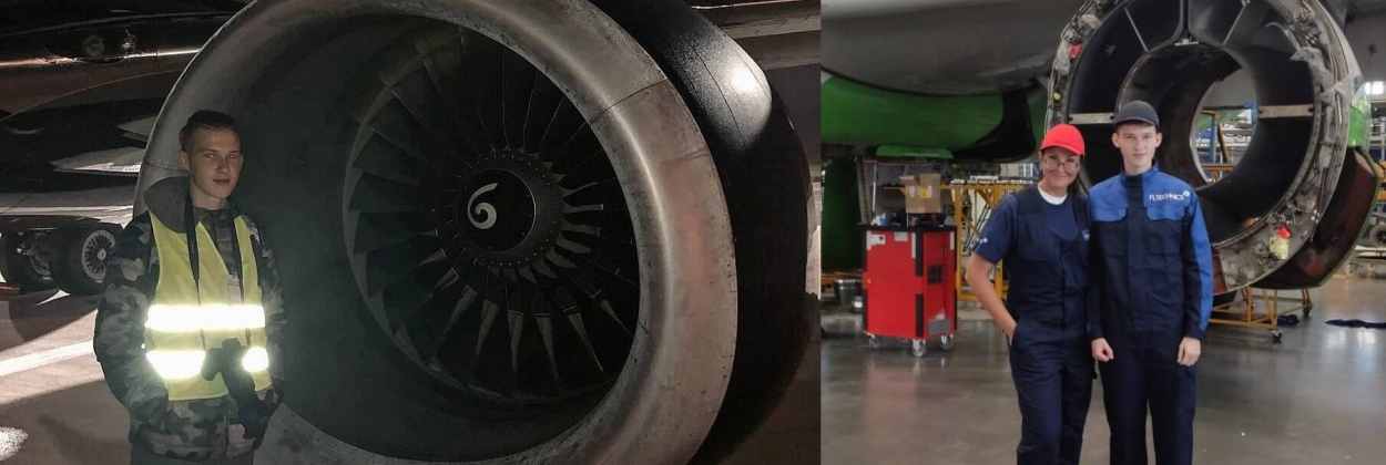17-year-old joins aviation industry by lucky chance, remains despite challenges