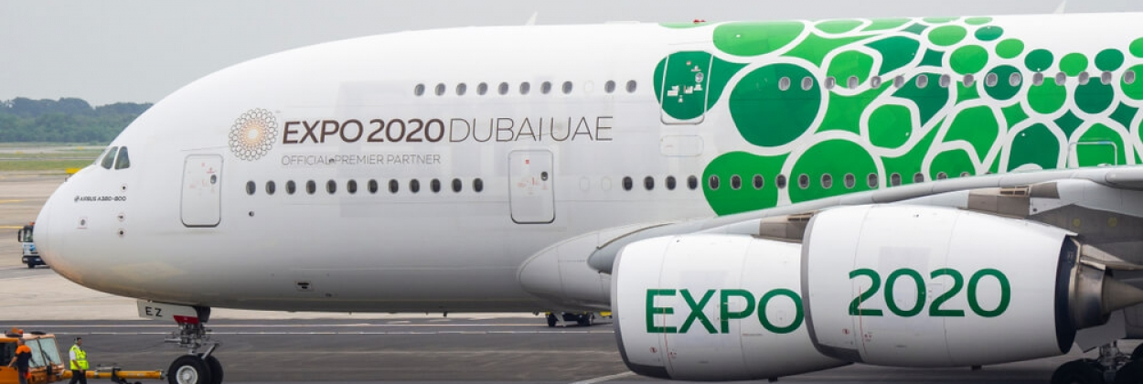 Emirates to fly A380 in green as nod to sustainability