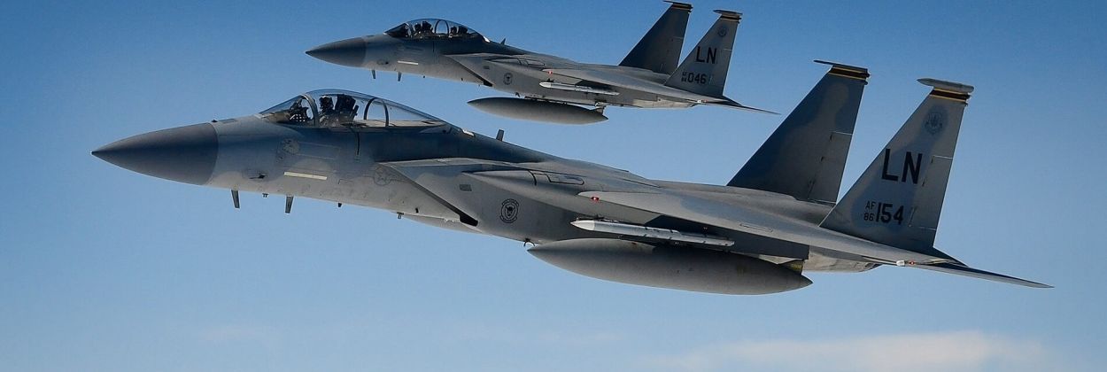 Pilot missing after USAF F-15C disappears above North Sea