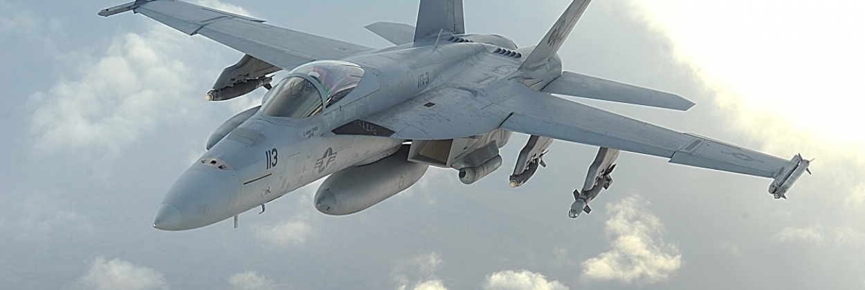 """US Navy declares death of pilot in F-18 """"Star Wars"""" canyon crash"""