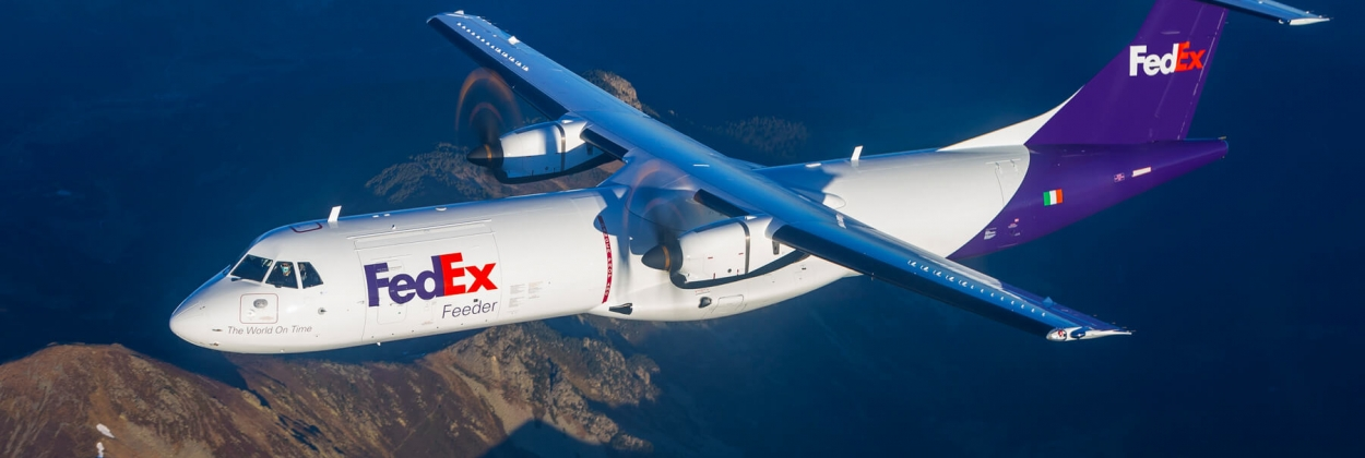 FedEx takes delivery of first ATR 72-600F