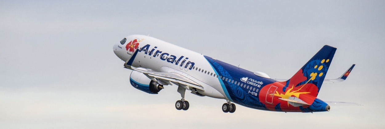 First Airbus A320neo for Aircalin