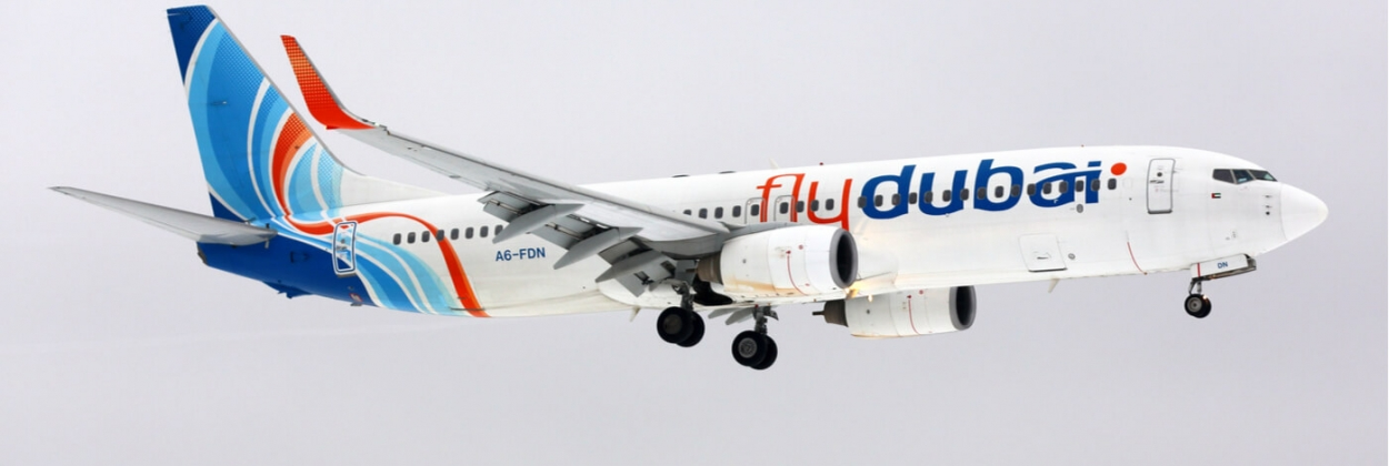FlyDubai Boeing 737-800 flying AeroTime aviation news