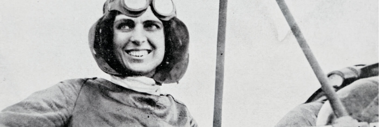 Harriet Quimby 1st woman pilot to cross English Channel aerotime