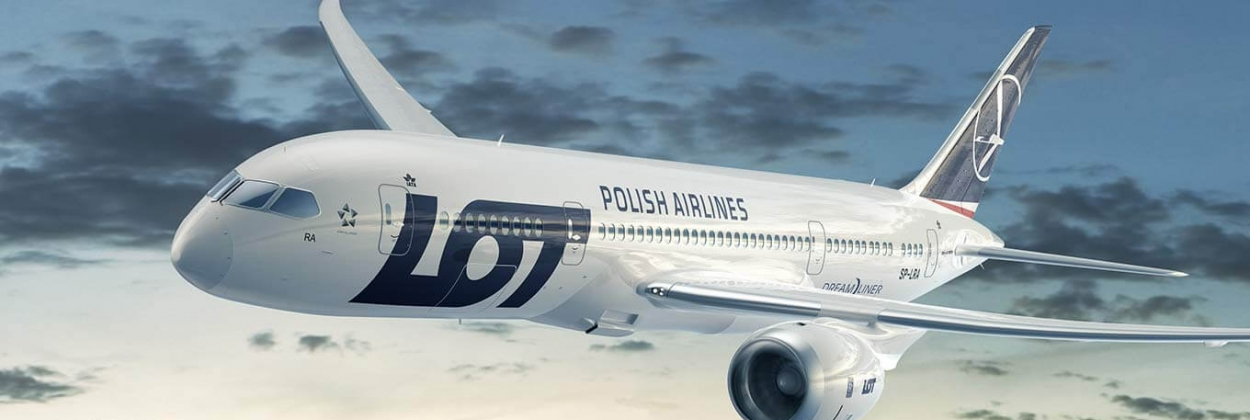 LOT will fly from Warsaw to San Francisco