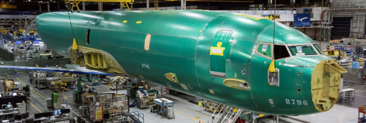 Boeing starts assembling Norway's first P-8A Poseidon aircraft