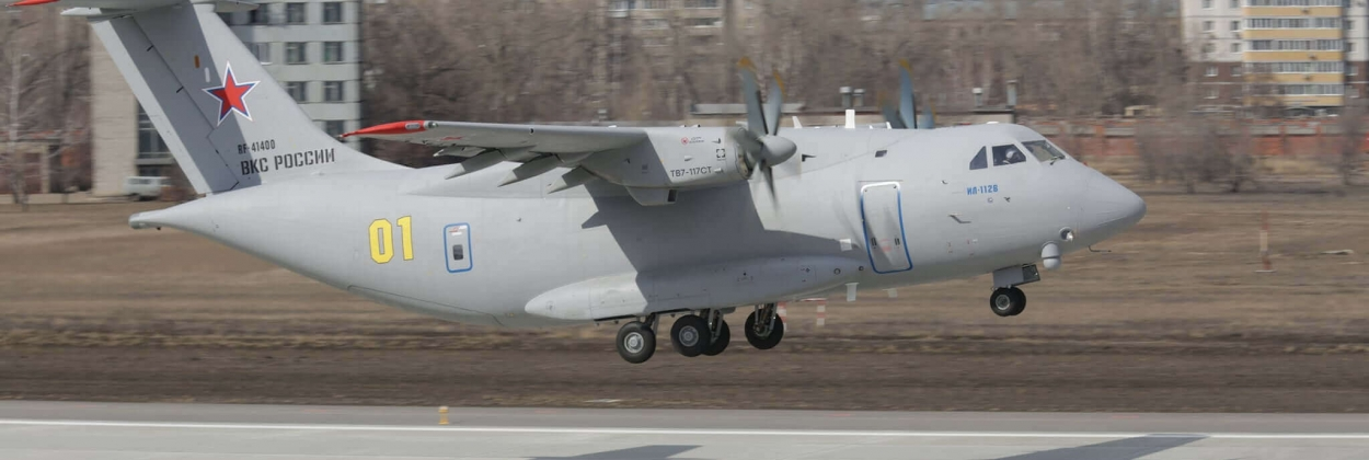 Russian Il-112V transport aircraft prototype crashes near Moscow