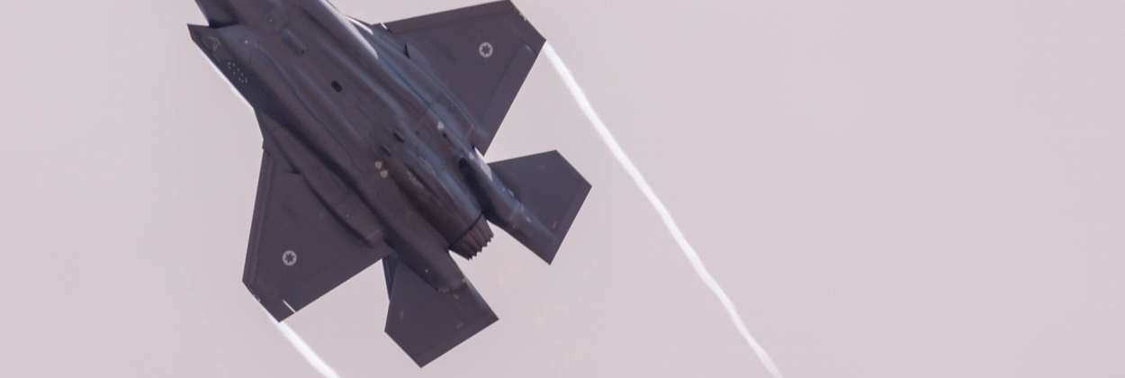 Israel F-35 photographed for the first time in Lebanon sky
