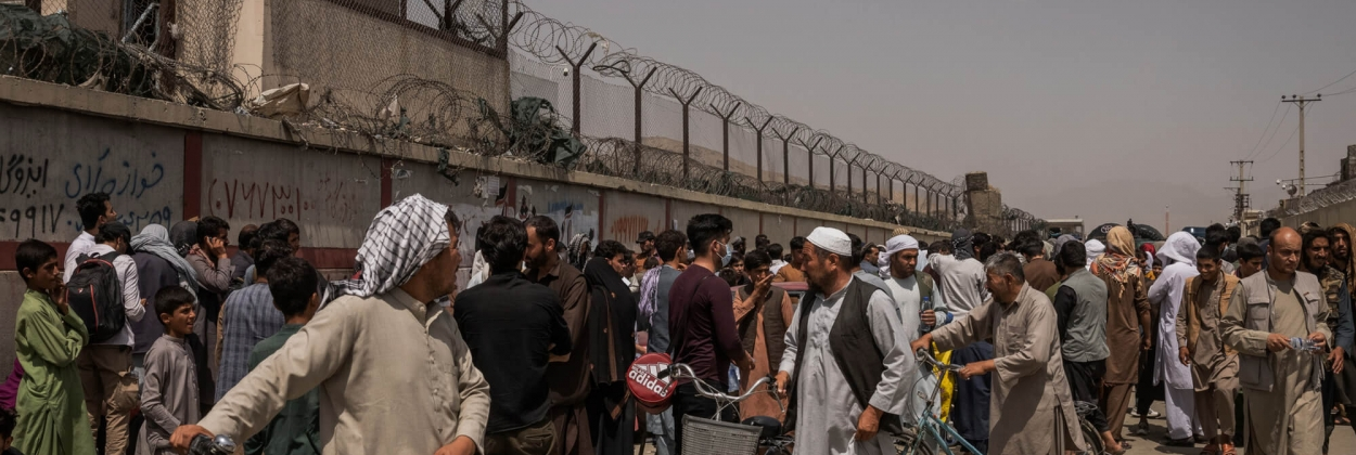 Taliban prevents Afghan nationals from going to airport