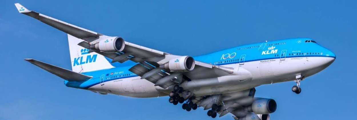 KLM flight on Boeing 747-400 turns back to Amsterdam on way to Mexico