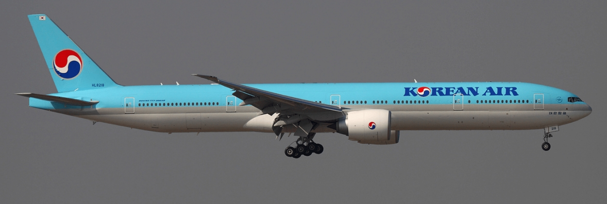korean air lines boeing 777 300er in flight aerotime news